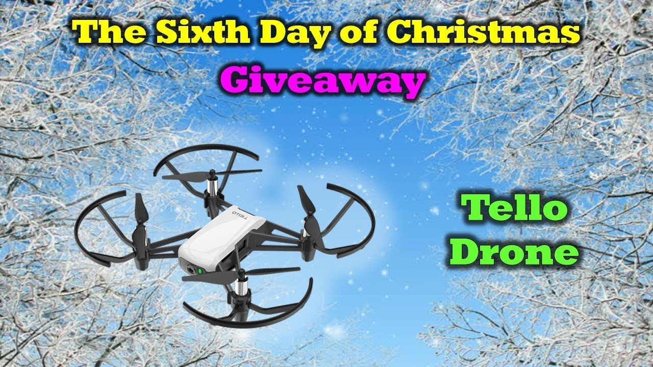 Free Tello Drone – Day 6 of Our 12 Days of Drone Valley Christmas