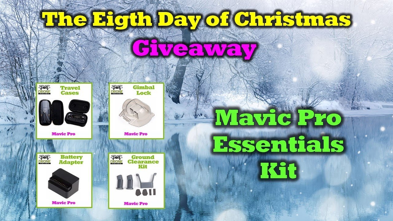 Mavic Pro Goodies –  Day 8 of the 12 Days of Drone Valley Christmas Giveaways