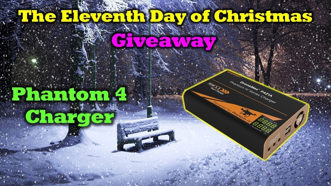 Free Phantom 4 Energen Charger –  Day 11 in Our 12 Days of Drone Valley Christmas Giveaways
