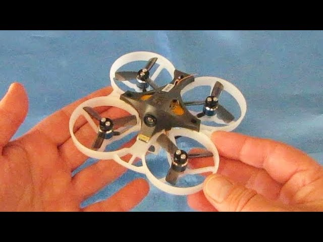 Kingkong LDARC Tiny GT8 Brushless Micro FPV Trainer Drone Flight Test Review