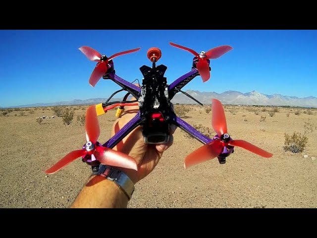 Tero Q215mm BNF FPV Racer Flight Test Review