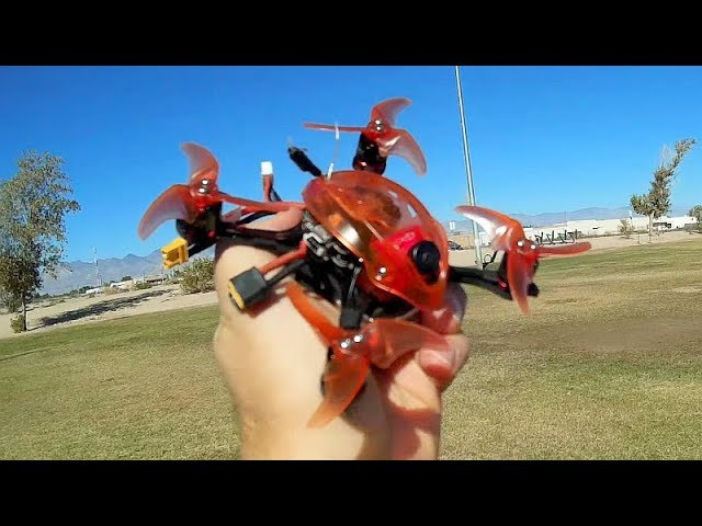 EMAX Babyhawk Race Pro 120mm Brushless FPV Racer Flight Test Review
