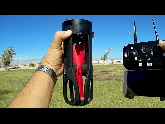 Le Idea Idea9 Large Folding 1080p GPS Selfie Drone Flight Test Review