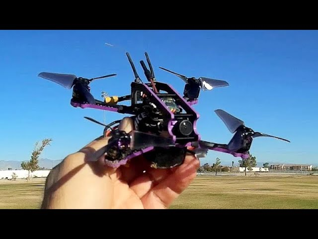 XKPRC X3 Brushless 135mm Micro FPV Racer Flight Test Review
