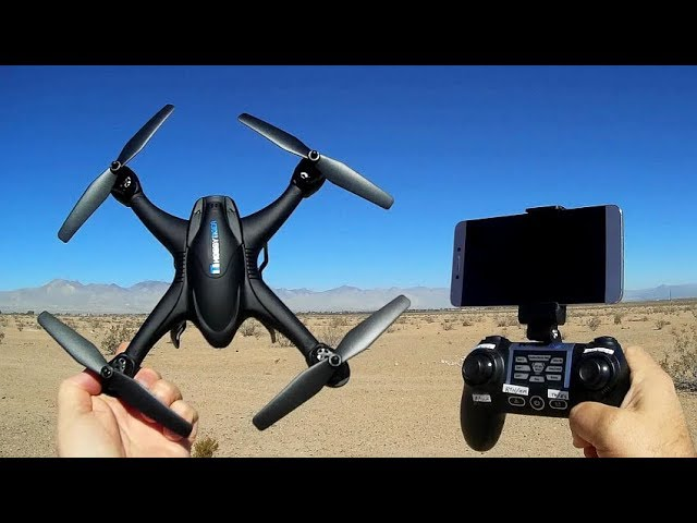 Hobbytiger H301S GPS FPV Camera Drone Flight Test Review