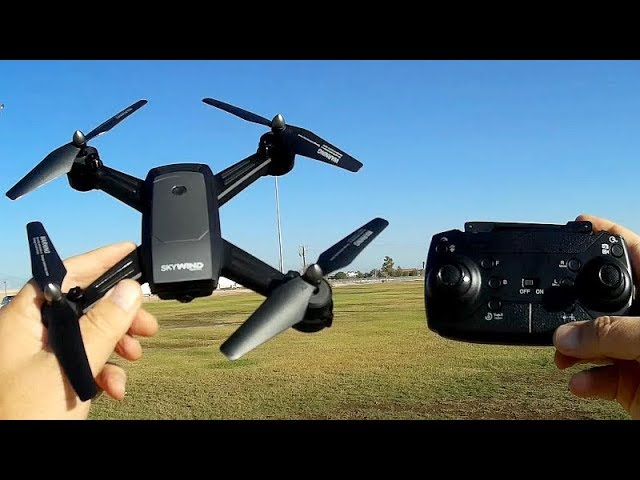 LH-X34F Optical Flow Hover FPV Camera Drone Flight Test Review