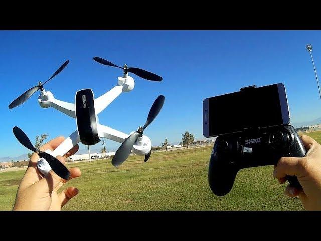SHRC HR SH7 Long Flying FPV Drone Flight Test Review
