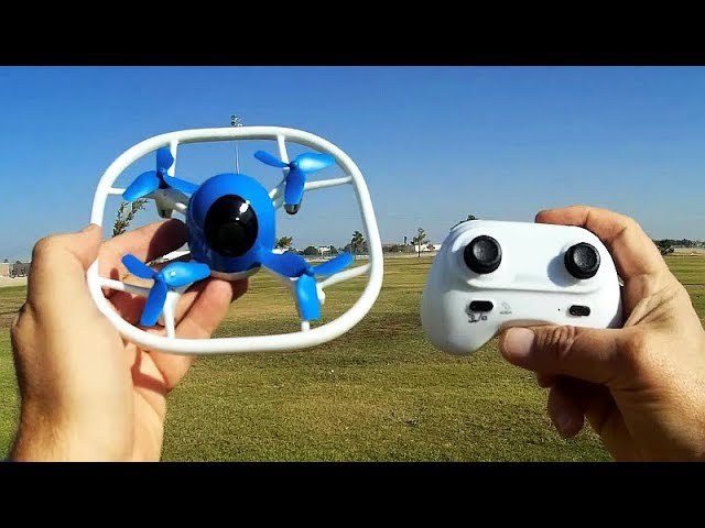 SANROCK U51 LED Lighted Drone Flight Test Review