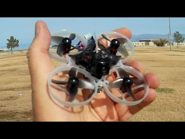 Happymodel Mobula7 Fast Brushless 2S Whoop Flight Test Review