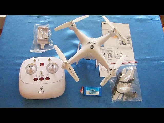 JJRC H68G Bellweather GPS Version Flight Test Review