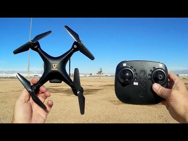 Yucheng Goshawk Beginners Learn to Fly Drone Flight Test Review