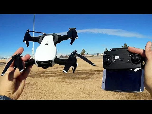 Eachine E511 Long Flying Camera Drone Flight Test Review