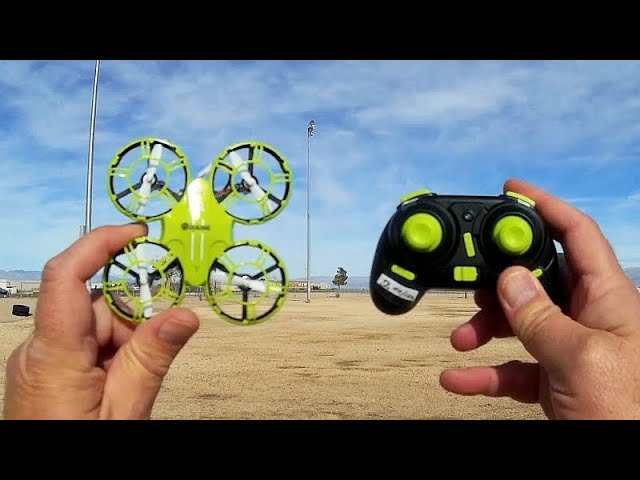 Eachine E016H Cheap Learn to Fly Drone Flight Test Review