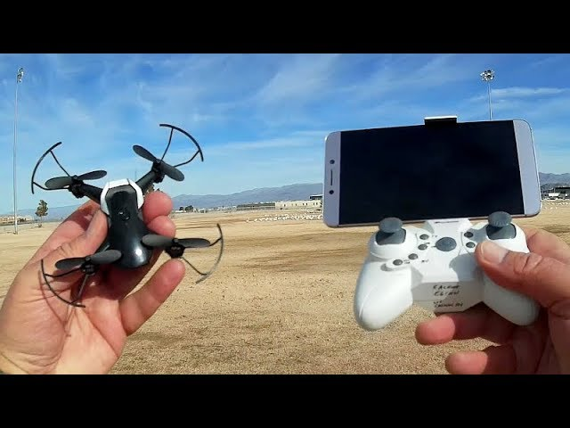Eachine E61HW Micro FPV Drone Flight Test Review