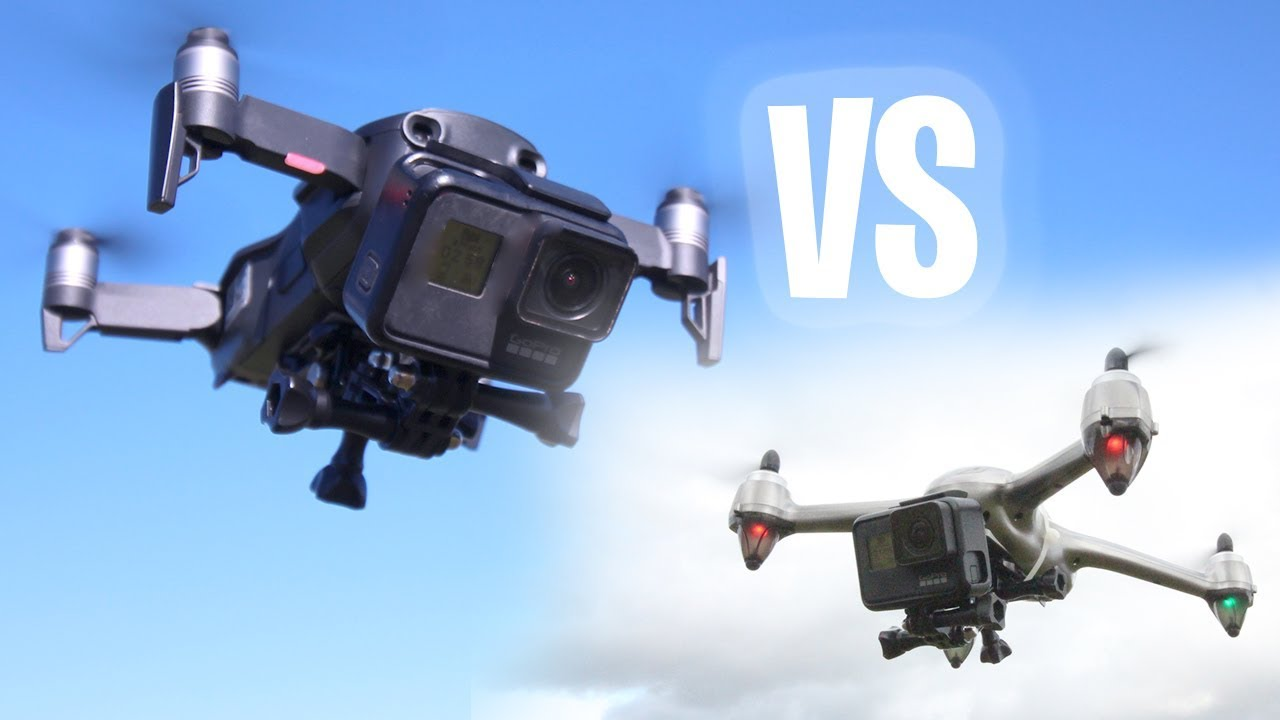 GoPro Hero7 + Mavic Air – VS – $100 Drone = RESULTS!