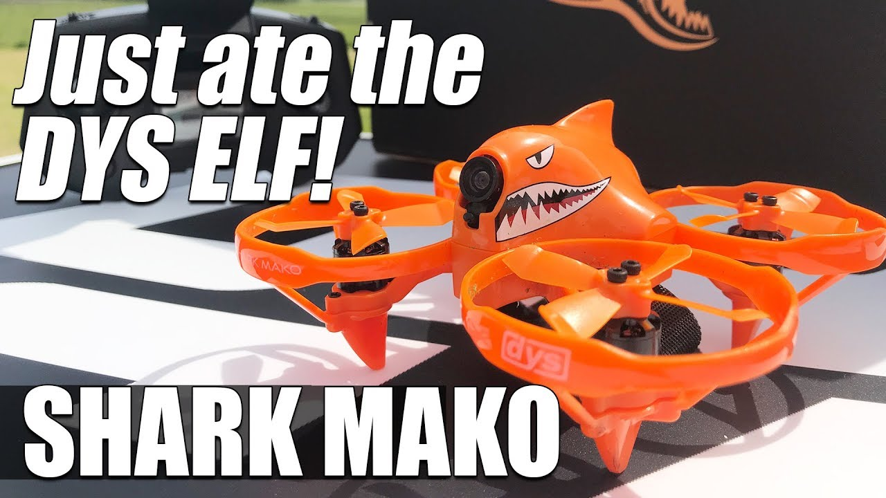 DYS SHARK MAKO – Better than the ELF! – HONEST Review & Flights