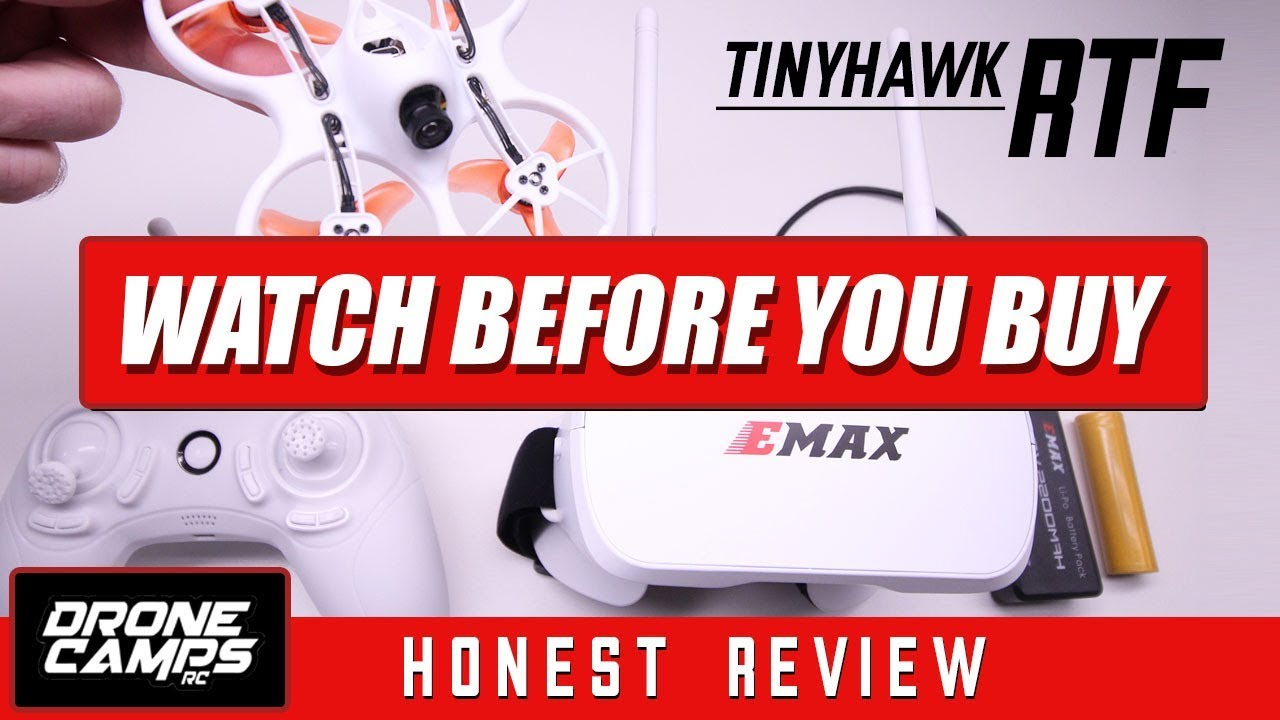 EMAX TINYHAWK RTF – WATCH BEFORE YOU BUY – Honest Review, Flights, Pros & Cons