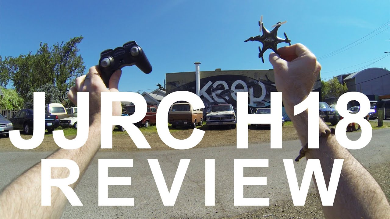 JJRC H18 – Review, Flight & Giveaway (Courtesy Coocheer)