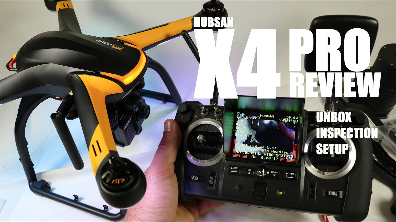 HUBSAN X4 PRO H109s FPV GPS QuadCopter Drone Review – Part 1 – [UnBox, Inspection & Setup]