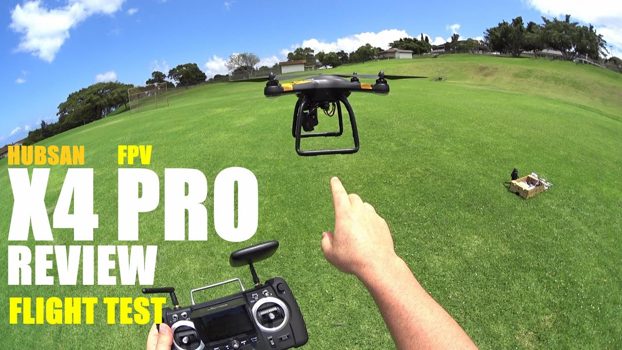 HUBSAN X4 PRO H109s FPV GPS QuadCopter Drone Review – Part 2 – [Flight Test, Pros & Cons]