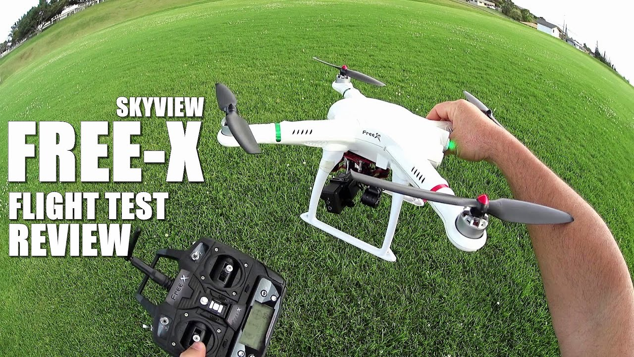 FREE-X SKYVIEW MCFX GPS QuadCopter Drone Review – Part 2 – [Flight Test]