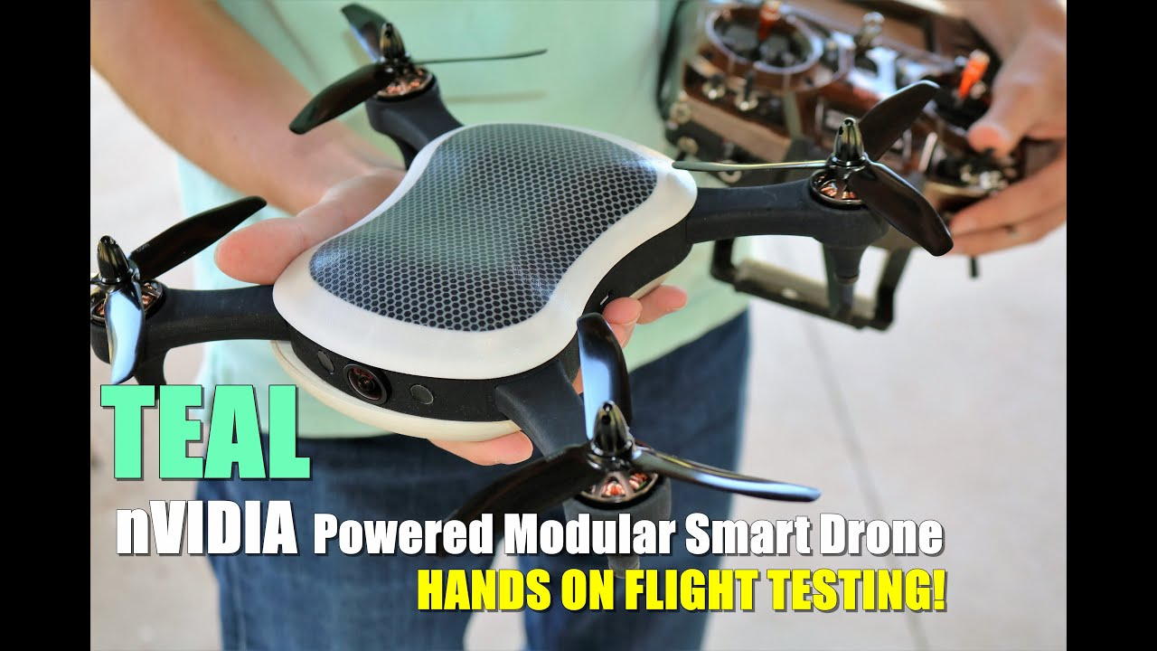 TEAL Hands On Flight Test – nVidia Powered Modular Smart Drone [Pre Production Sneak Peek!]