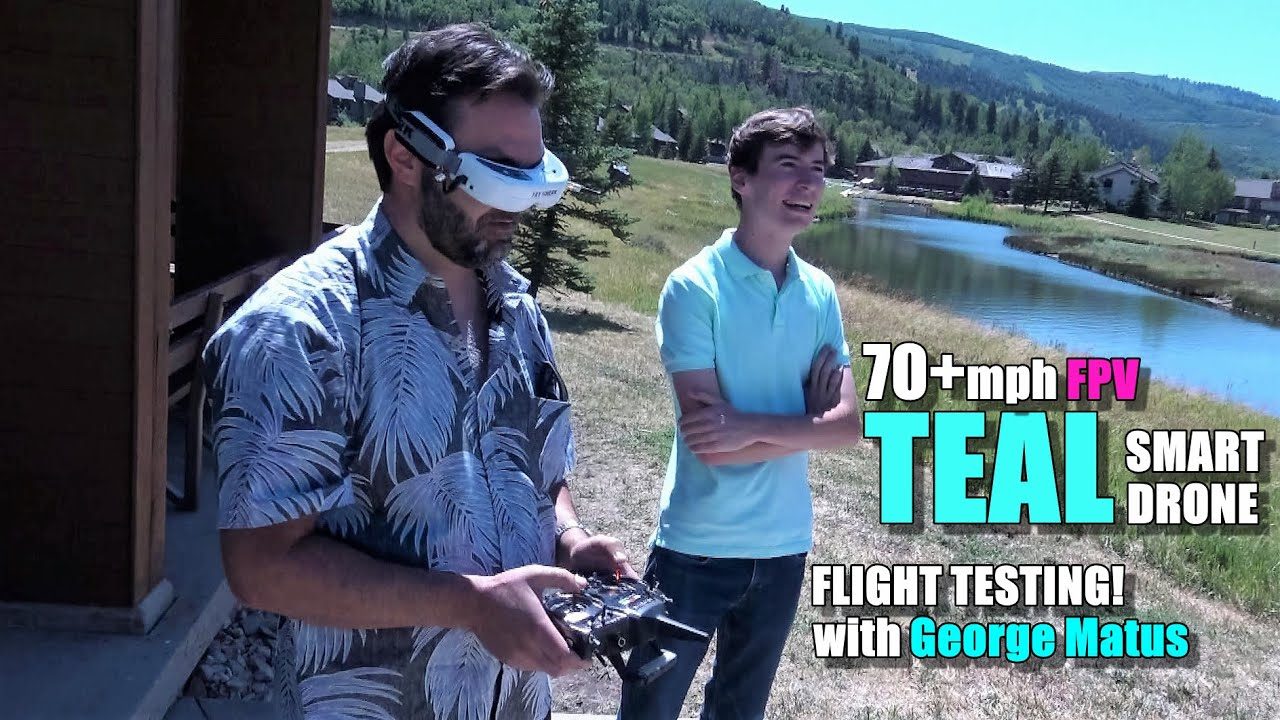 TEAL Smart Drone Hands On – 70+MPH FPV Flight Test – [nVidia Powered Pre Production Sneak Peek!]