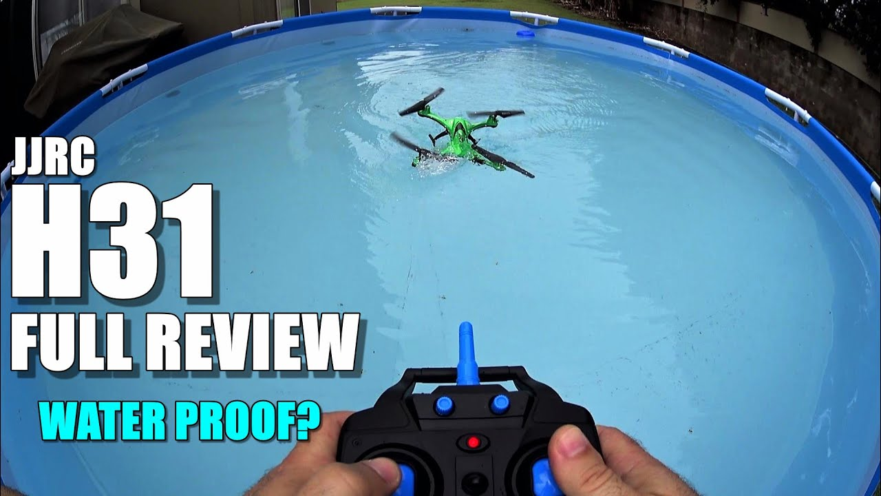 JJRC H31 Waterproof Drone – Full Review – [UnBox, Inspection, Setup, Flight/Water Test]