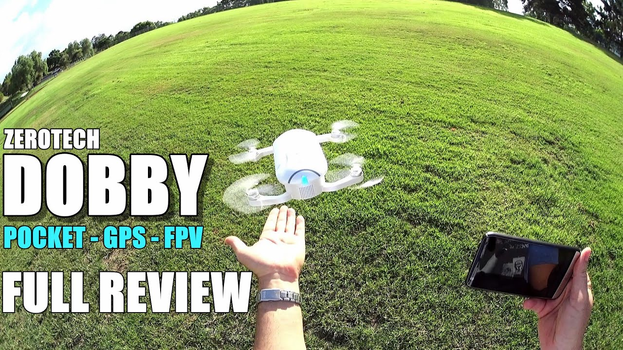 ZEROTECH DOBBY – Full Review – [UnBox, Inspection, Setup, Flight/Range Test, Pros & Cons]