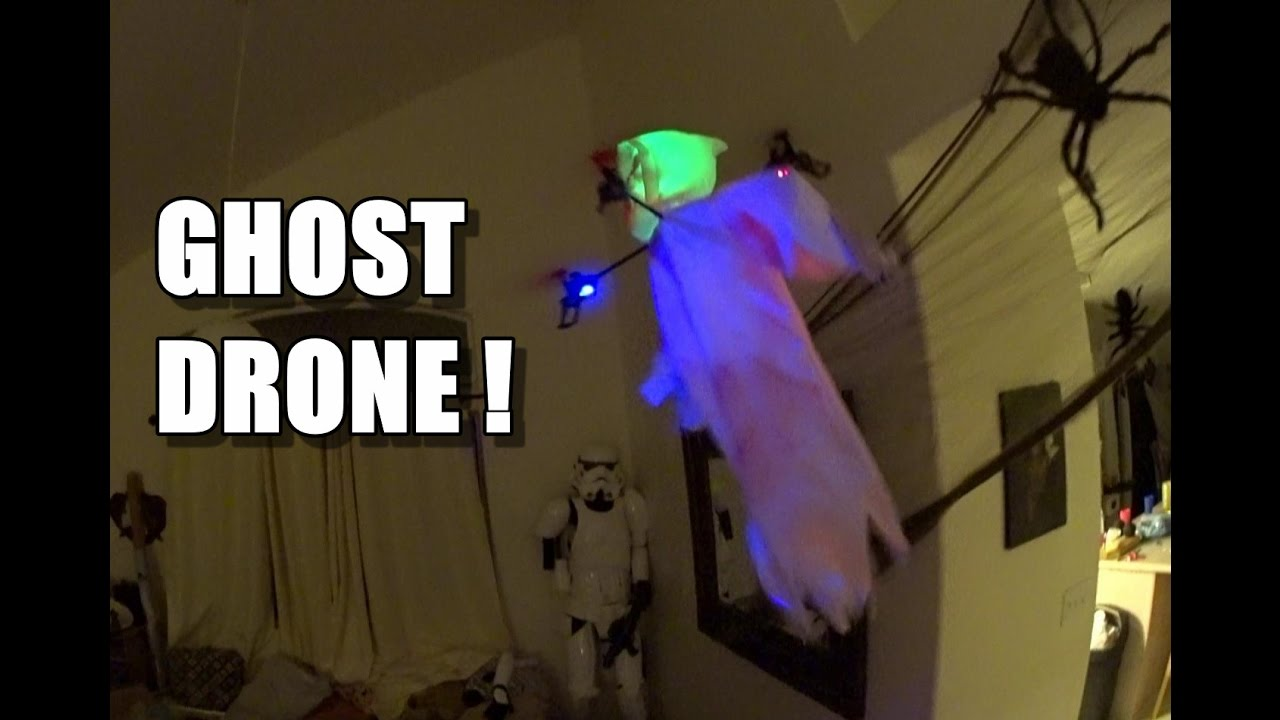 HALLOWEEN GHOST DRONE – Full Review – [Unbox, Inspection, Setup, Flight/Crash Test]