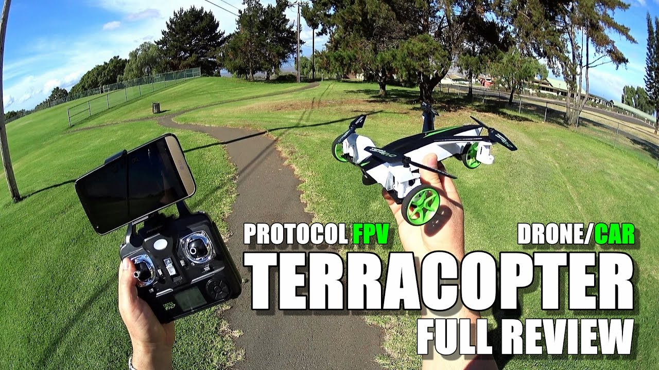PROTOCOL TerraCopter EVO Car/Drone – Full Review – [Unbox, Inspection, Setup, Flight/Drive Test]