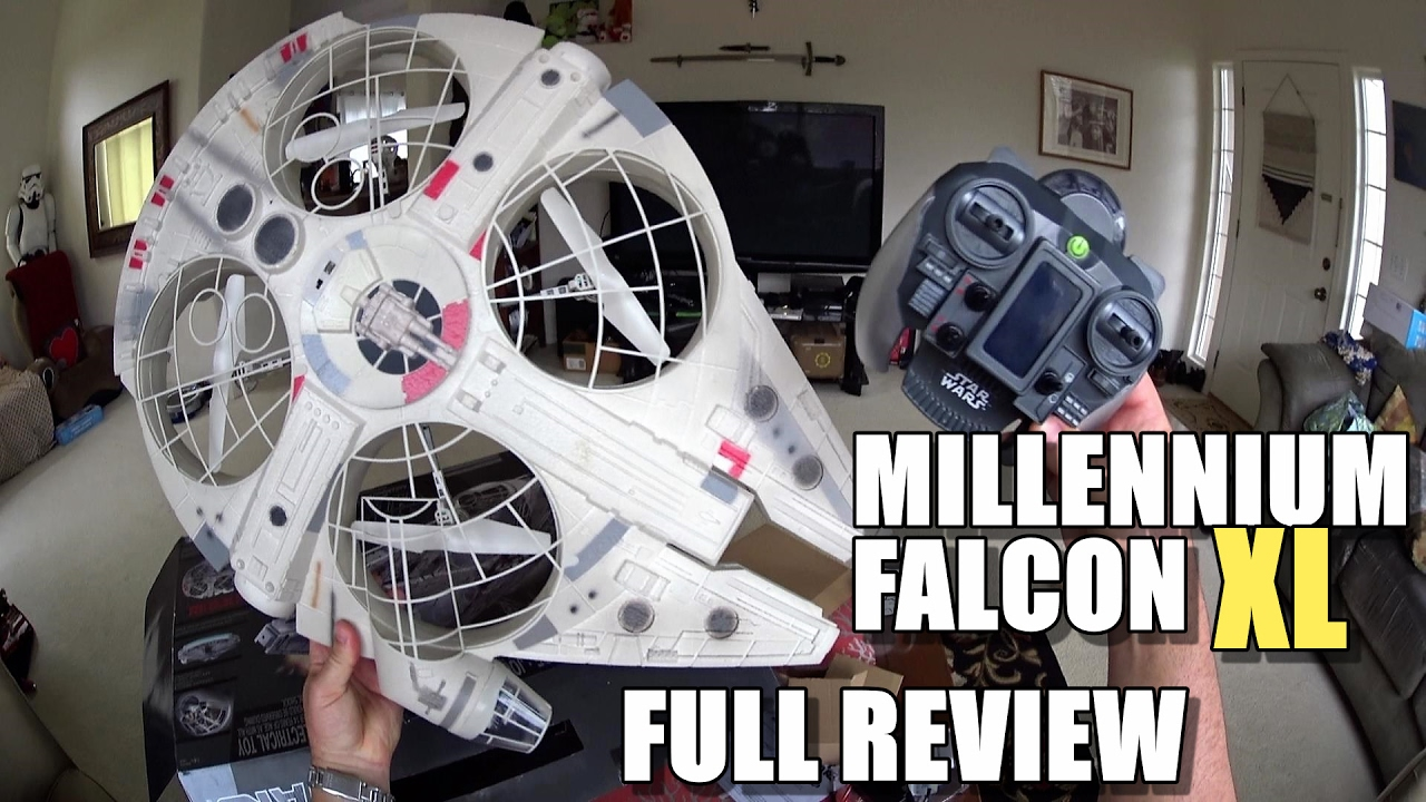 Star Wars MILLENNIUM FALCON XL Drone – Full Review – [Unbox, Inspection, Flight Test, Pros & Cons]