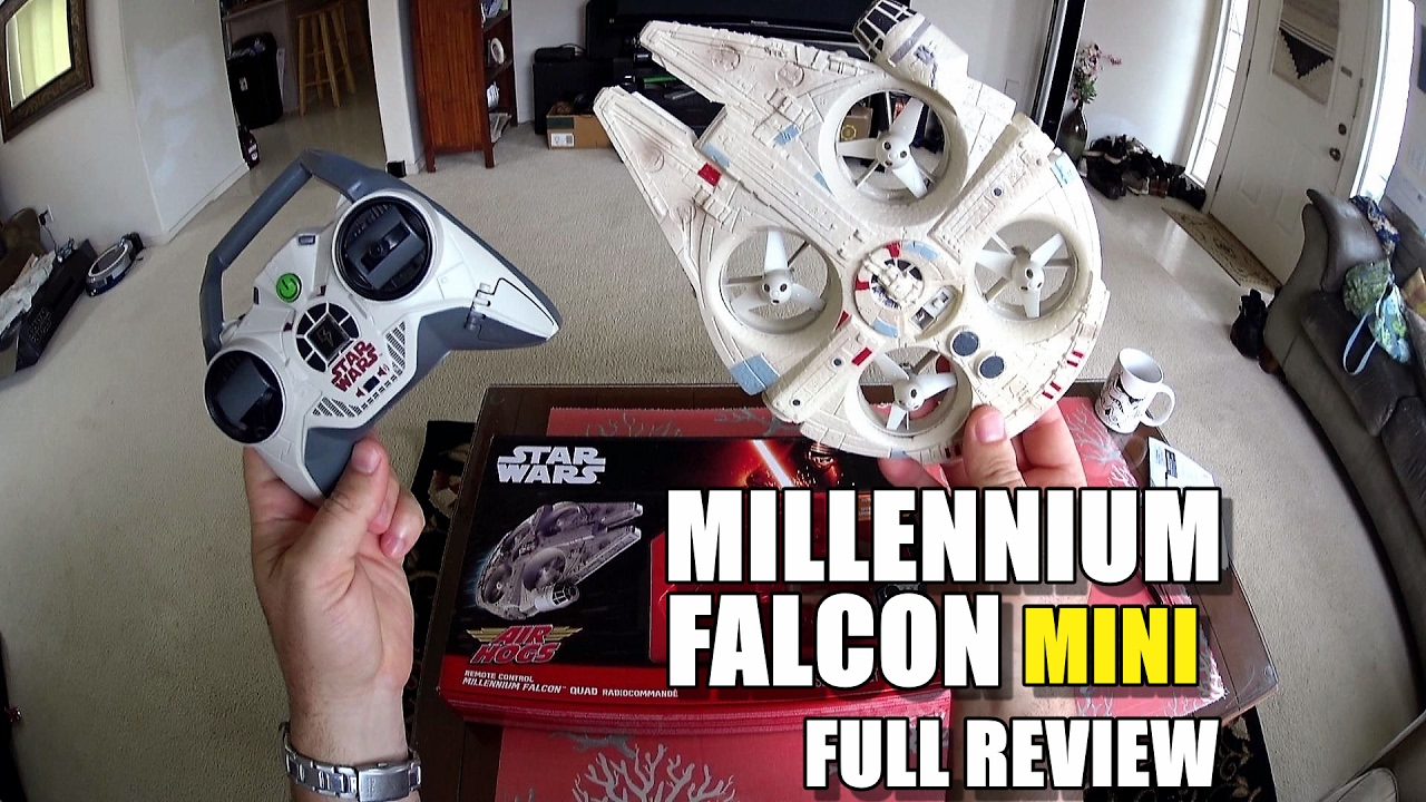 Star Wars MILLENNIUM FALCON MINI Drone – Full Review – [Unbox, Inspection, Flight Test, Pros & Cons]