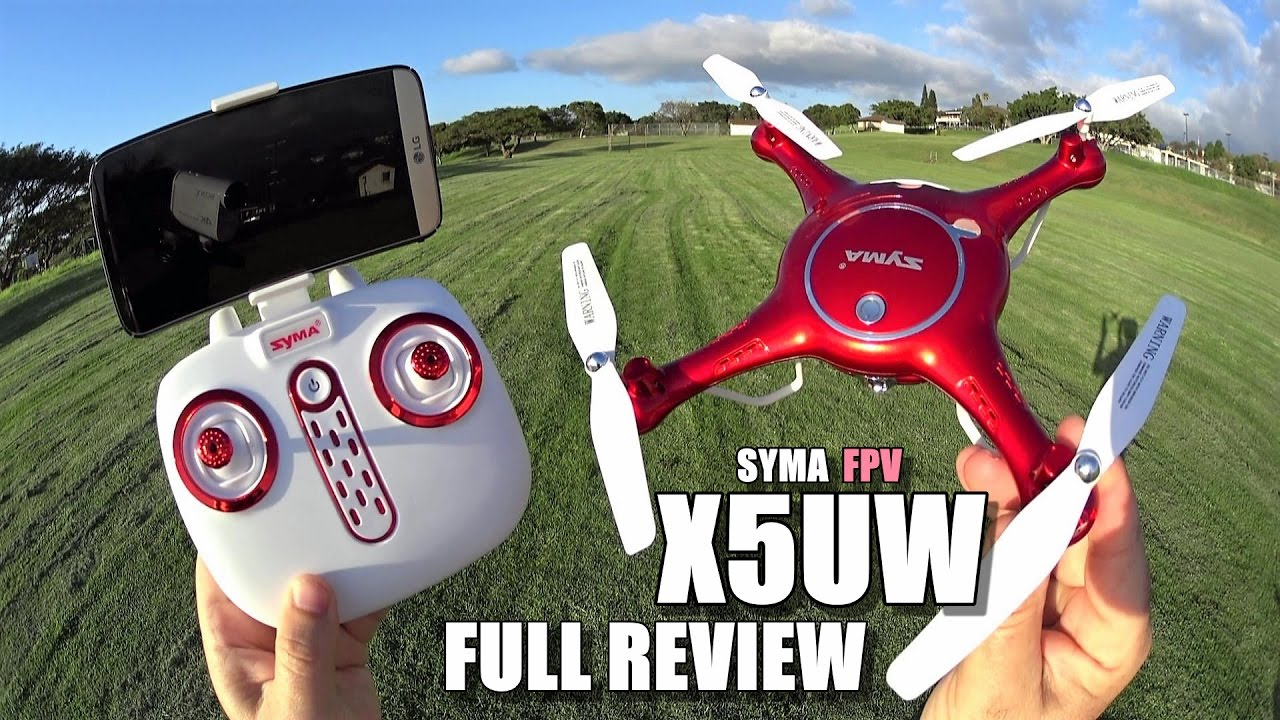 SYMA X5UW FPV Camera Drone – Full Review – [UnBoxing, Inspection, Setup, Flight Test, Pros & Cons]