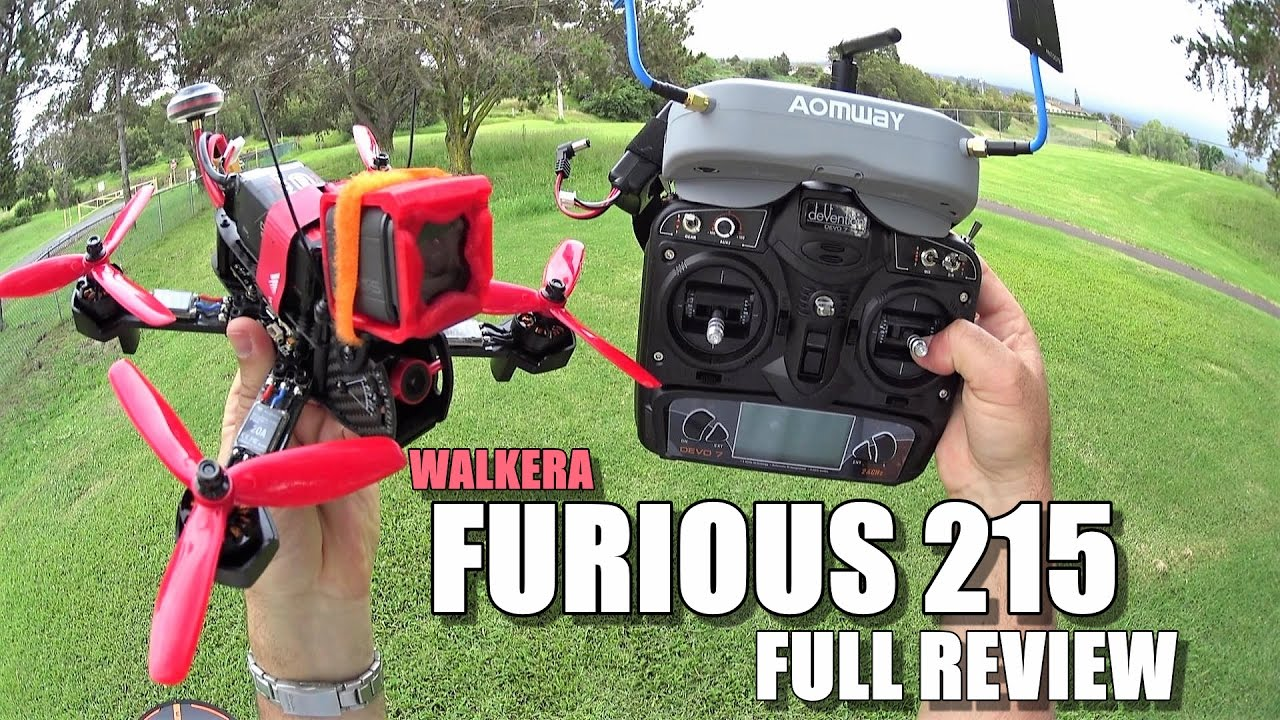 WALKERA FURIOUS 215 FPV Race Drone Full Review – [Unboxing, Inspection, Flight Test, Pros & Cons]