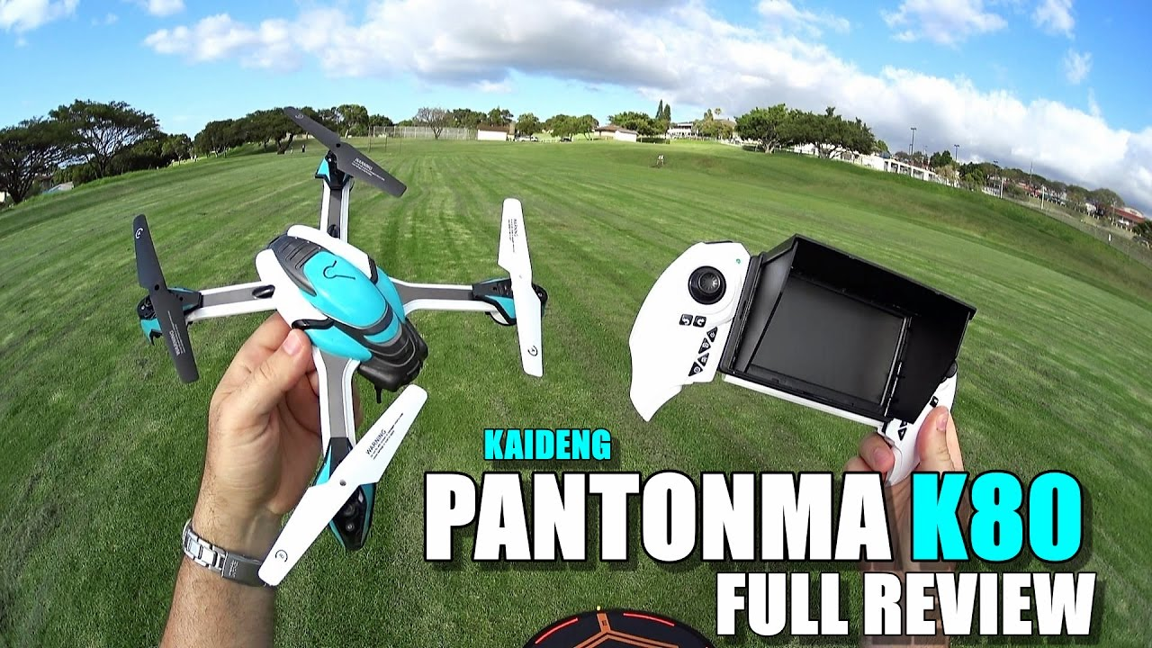 KAIDENG PANTONMA K80 Drone – Full Review – [UnBoxing, Inspection, Setup, Flight Test, Pros & Cons]