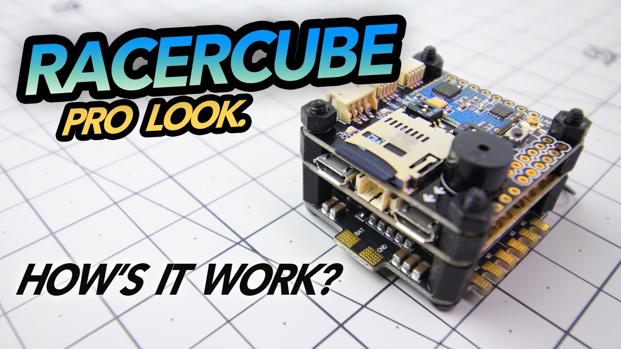 RACERCUBE AIO Flight Controller, Pro Look – How's it work?