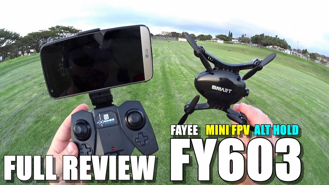 FAYEE FY603 Mini FPV Drone – Full Review – [Unboxing, Inspection, Flight/Crash Test, Pros & Cons]