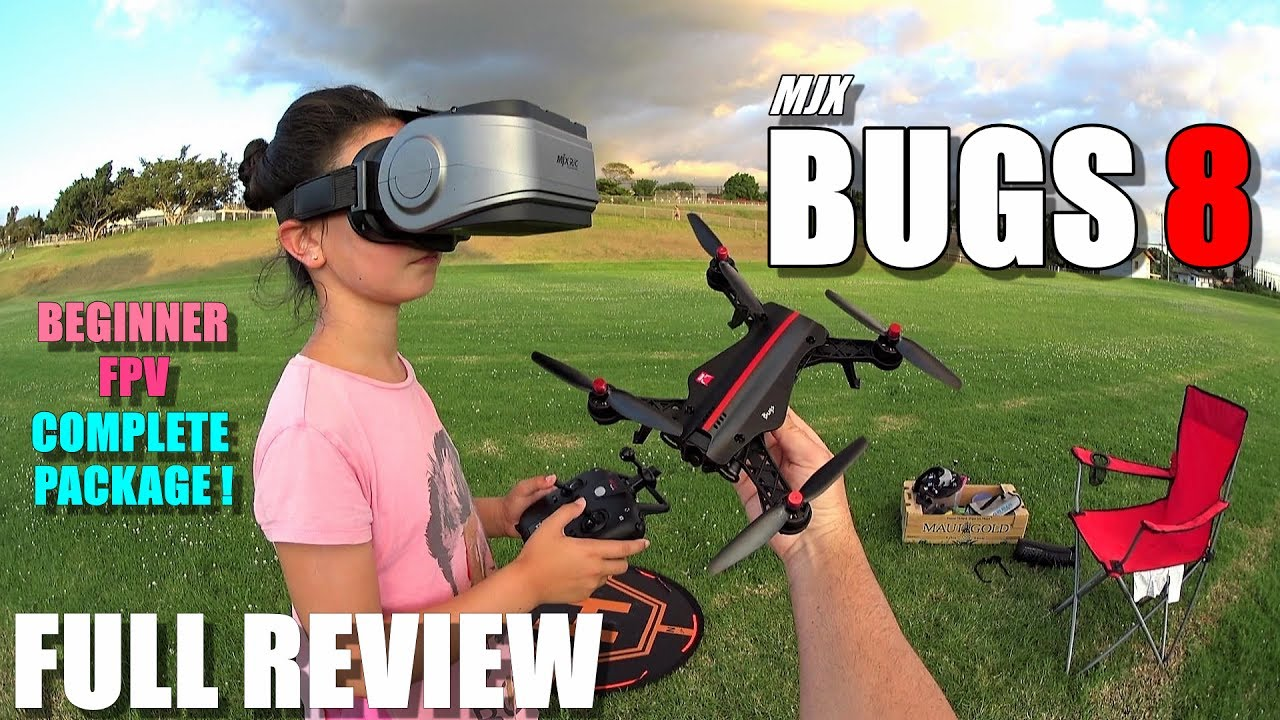 MJX BUGS 8 – Full Review – Best & most affordable? Entry Level 250 FPV RTF Race Drone