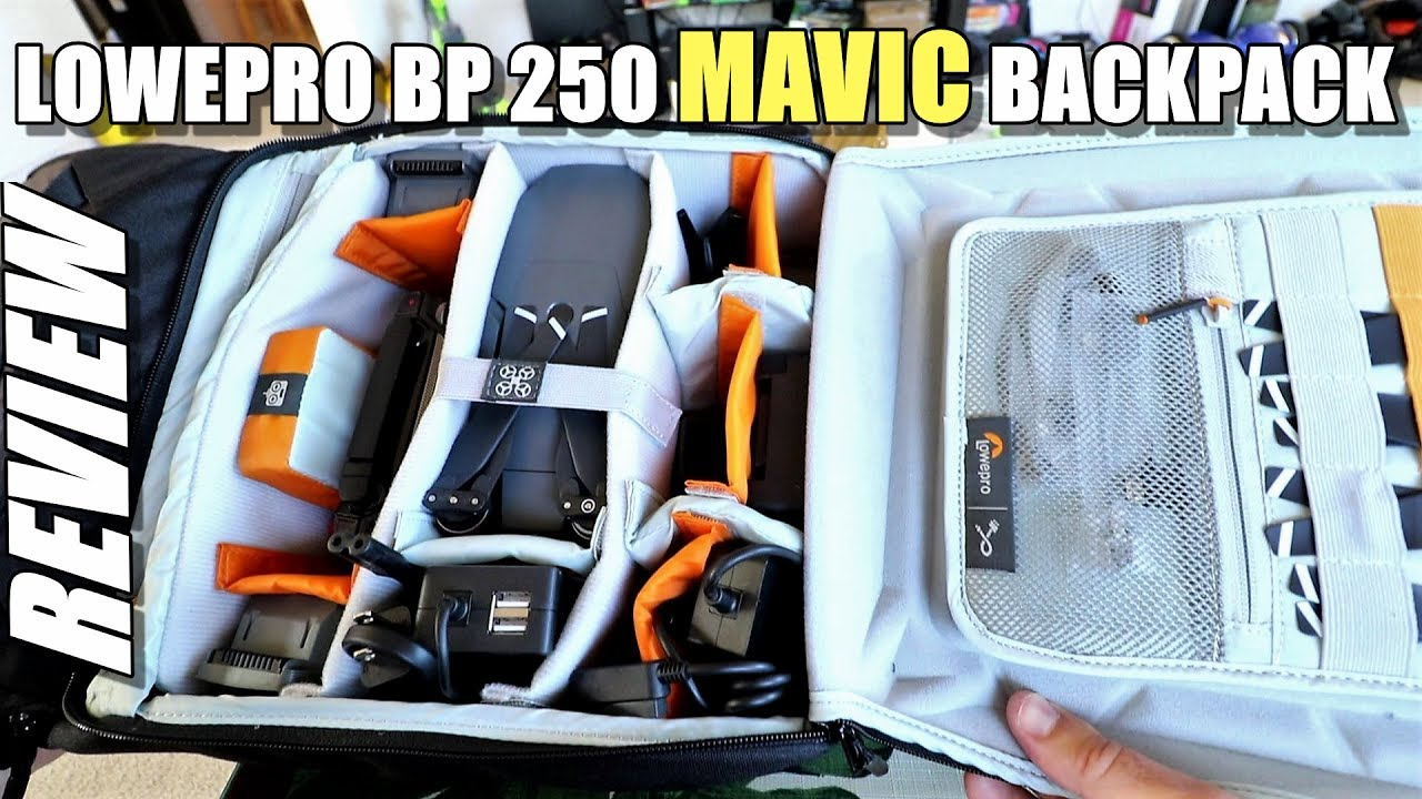 Lowepro DroneGuard BP 250 – DJI Mavic Pro Backpack Review & Setup Tour