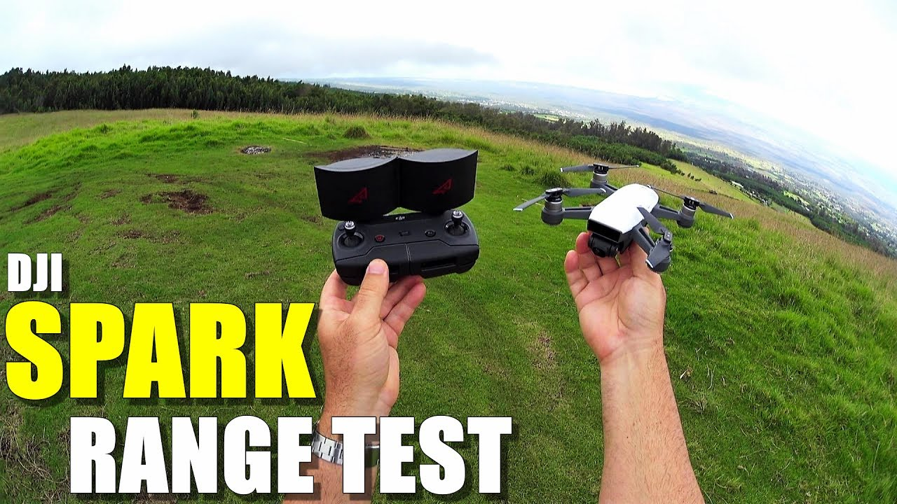 DJI SPARK Review – Part 3 – [4 Mile In-Depth Range Test with RC Controller & OTG Cable]