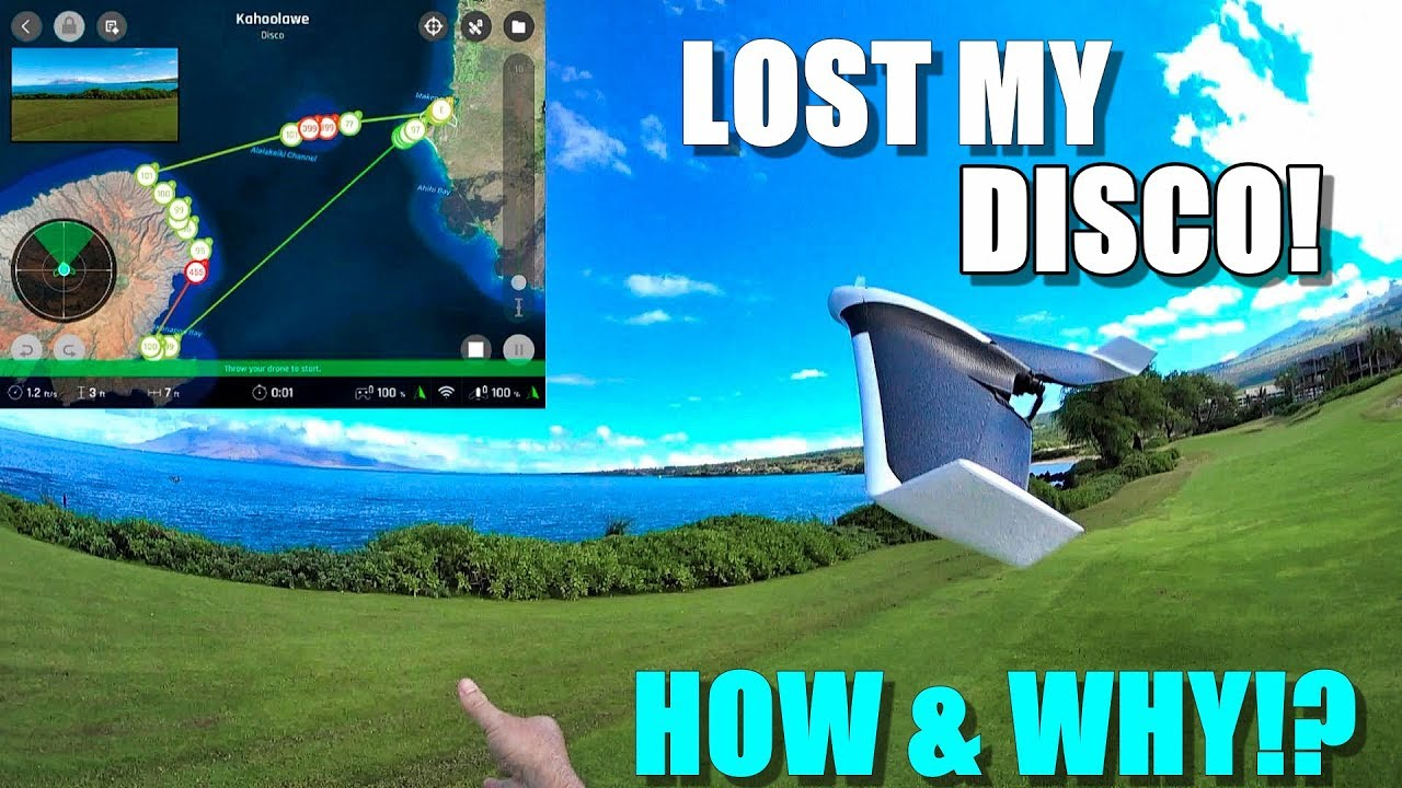 I lost my PARROT DISCO Drone in Hawaii! ? – Here's How & Why