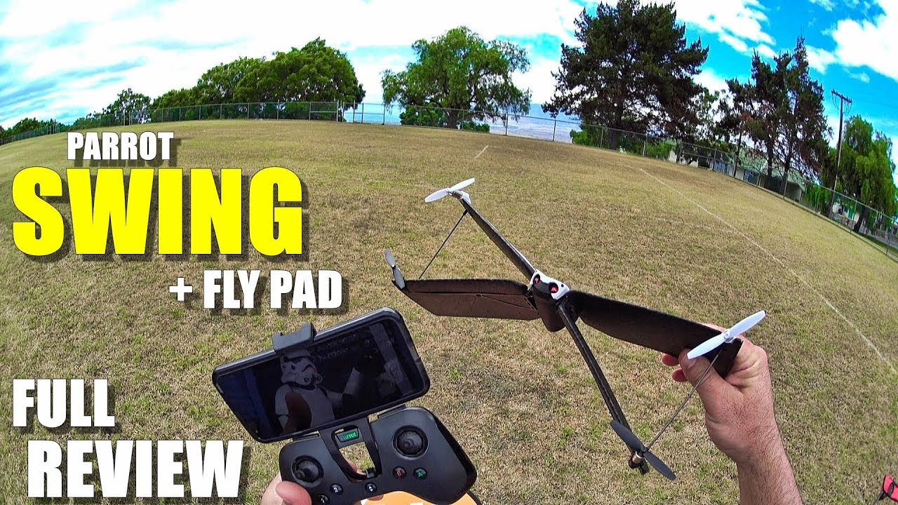 PARROT SWING VTOL Drone/Plane + FlyPad – Full Review – [Unboxing, Setup, Flight Test, Pros & Cons]