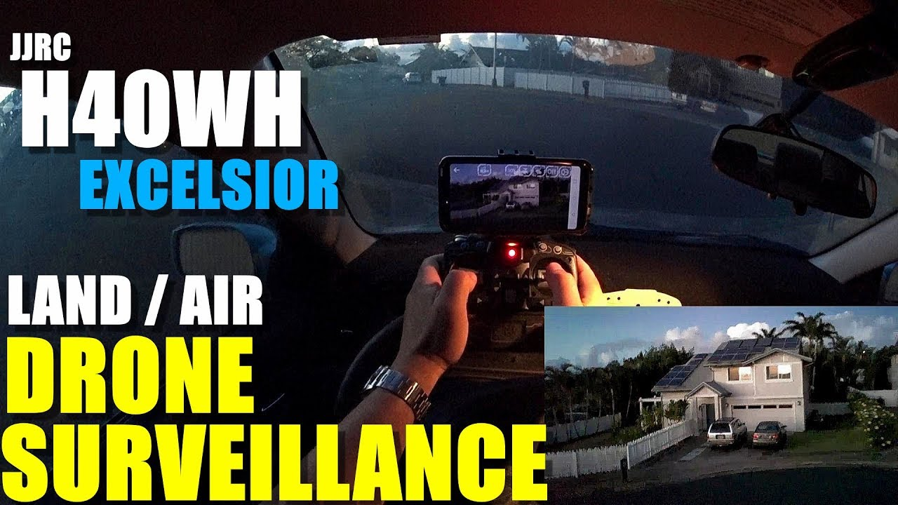 JJRC H40WH Excelsior Land/Air FPV Tank Drone – Full Review – Surveillance From My Car ?