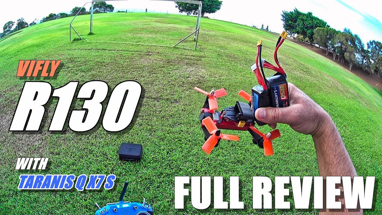 VIFLY R130 FPV Race Drone – Full Review – [Unboxing, Inspection, Flight/Crash Test, Pros & Cons]