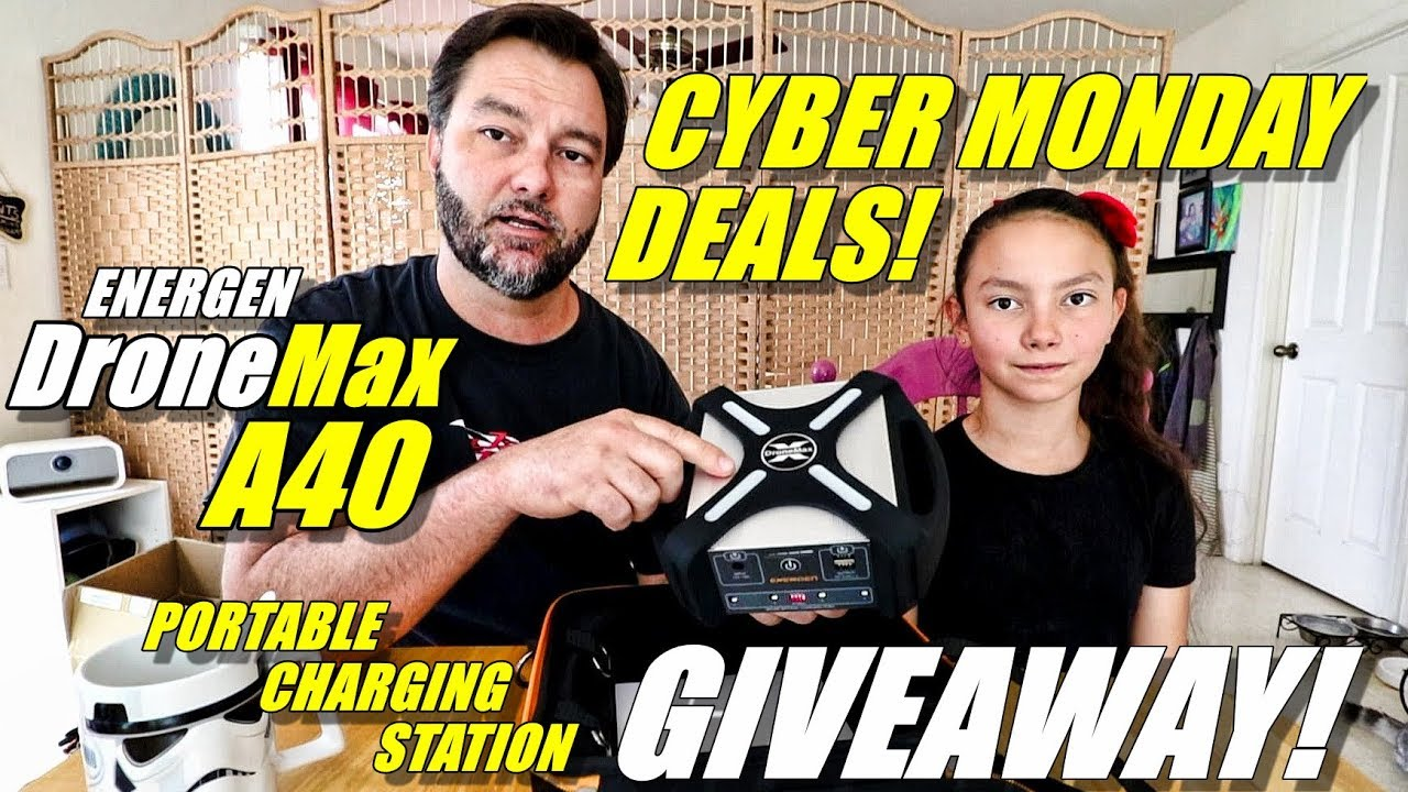 ENERGEN DroneMax A40 GIVEAWAY! Portable Drone Charge Station & CYBER MONDAY Deals! ???