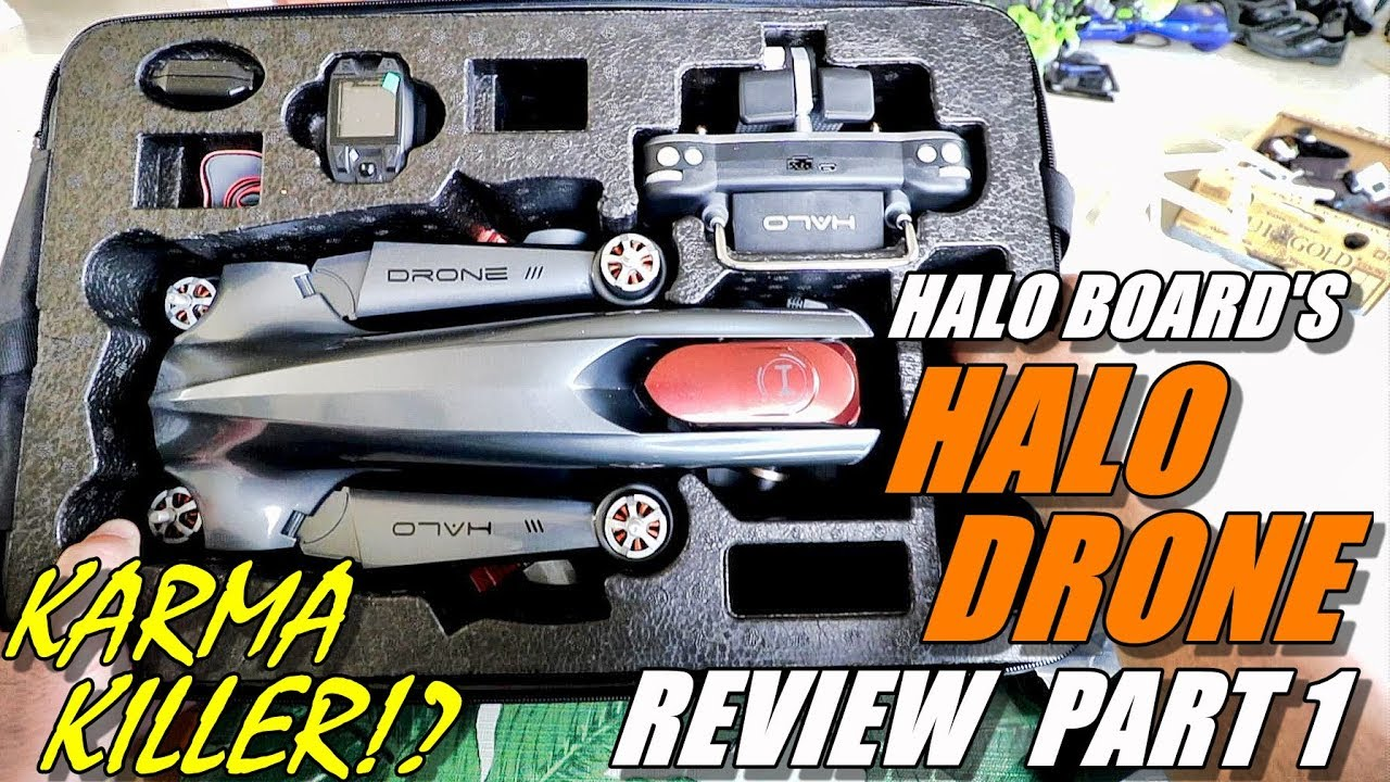 GoPro Karma Killer!? HALO DRONE PRO Review – Unboxing, Inspection & Setup – A Top Drone for 2018?