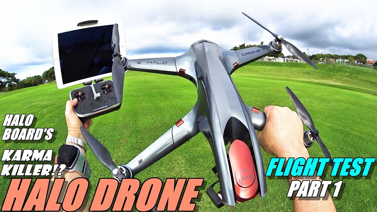 GoPro Karma Killer!? HALO DRONE PRO Flight Test Review Part 1 – With TX & Tracker – 2018 Top Drone?