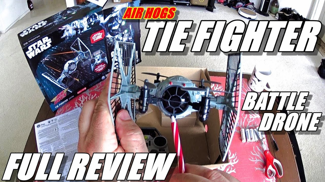 AirHogs STAR WARS Tie Fighter BATTLE DRONE Review – [Unboxing, Inspection, Flight Test, Pros & Cons]