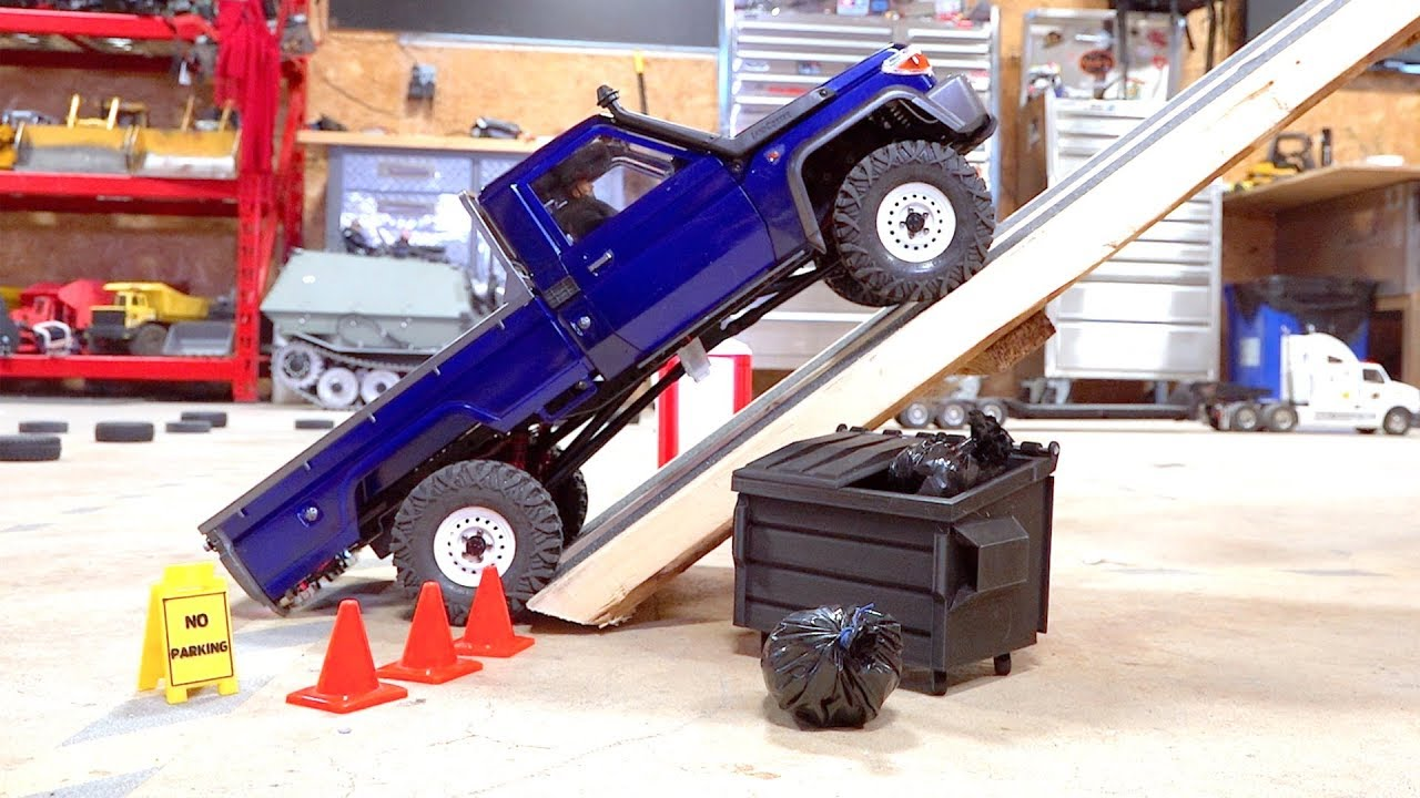 MAX Traction, Steep Incline Test – Toyota Land Cruiser LC70 UTE – BRX01 Boom Racing